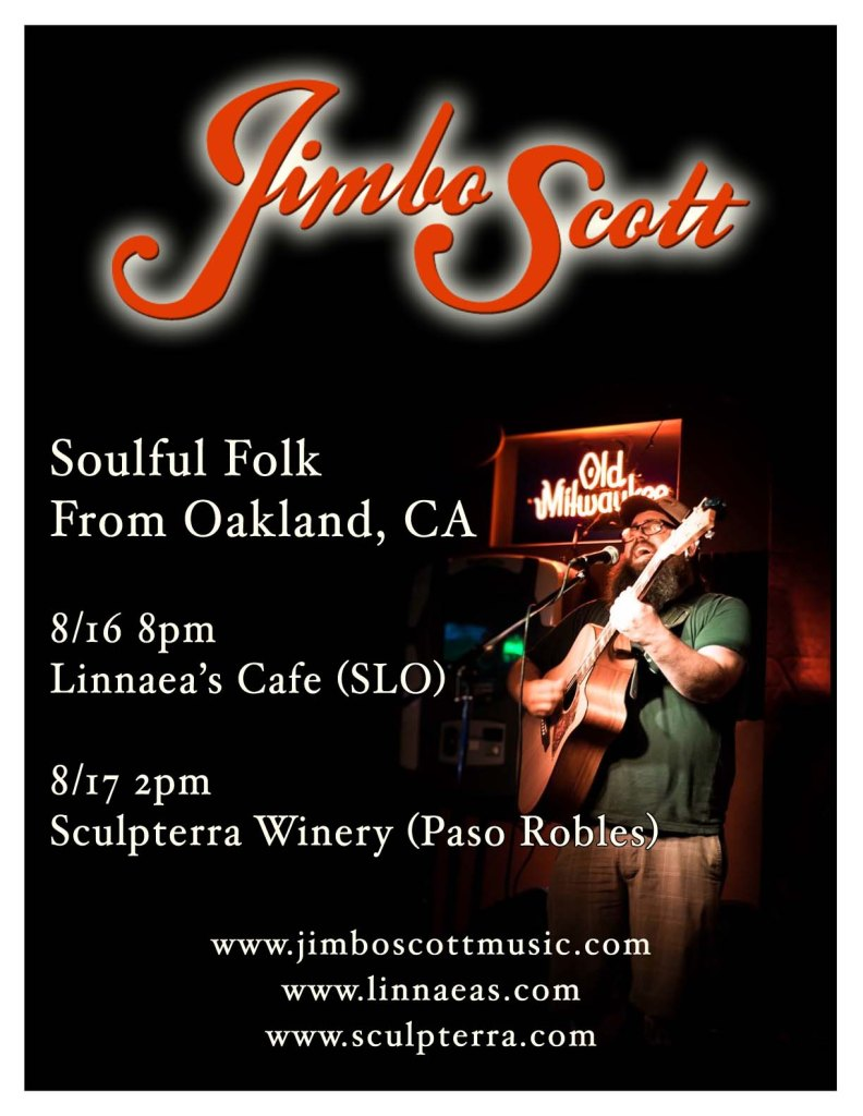 Jimbo is coming to the Central Coast!